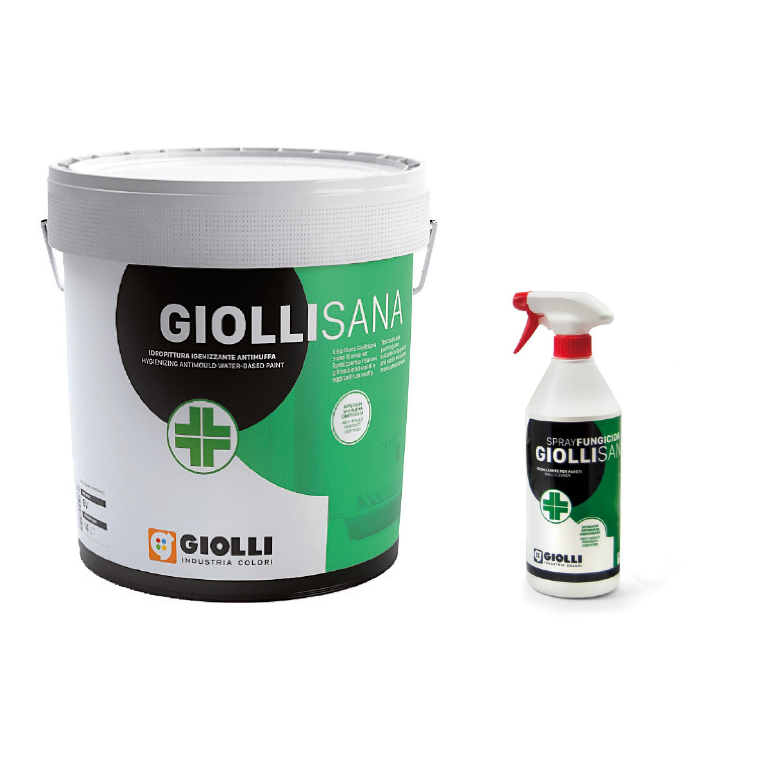 Kit Antimuffa Pittura + Spray - Giolli